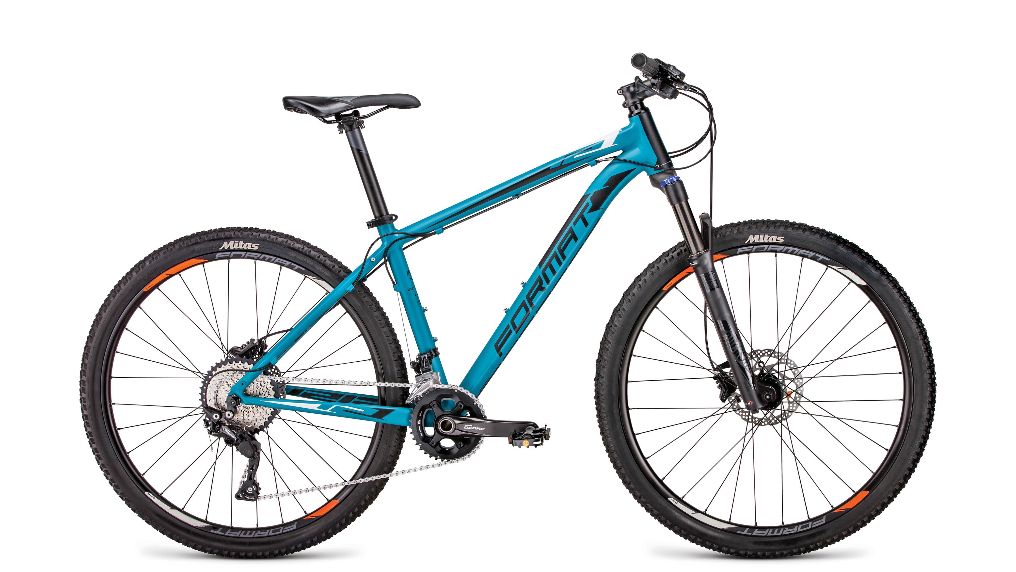 1212 27,5 (2019), Велосипед FORMAT (27,5 20 ск. рост S) 2018-2019, зеленый мат., RBKM9M67D001  - купить со скидкой
