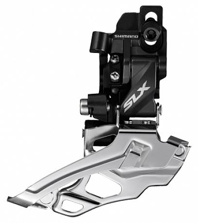 Купить Переключатель передний, M676, SLX, 2 ск., Direct mount, Рамка - нижняя, Тяга универсальная, 44, SH, SHIMANO, SLX