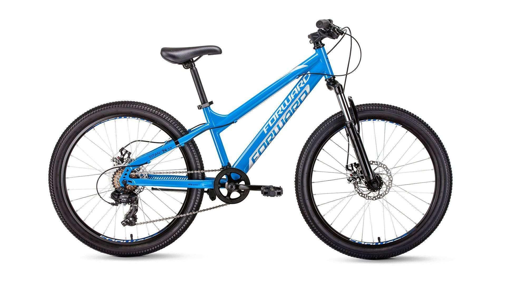 Велосипед FORWARD TITAN 24 2.0 disc 2018-2019 41705