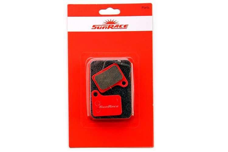 Тормозные колодки, SR-BS15S, Для дискового тормоза, Shimano: Deore M555, M555 DH/Nexave C-92, SUN RA (R4AS15SR0001)