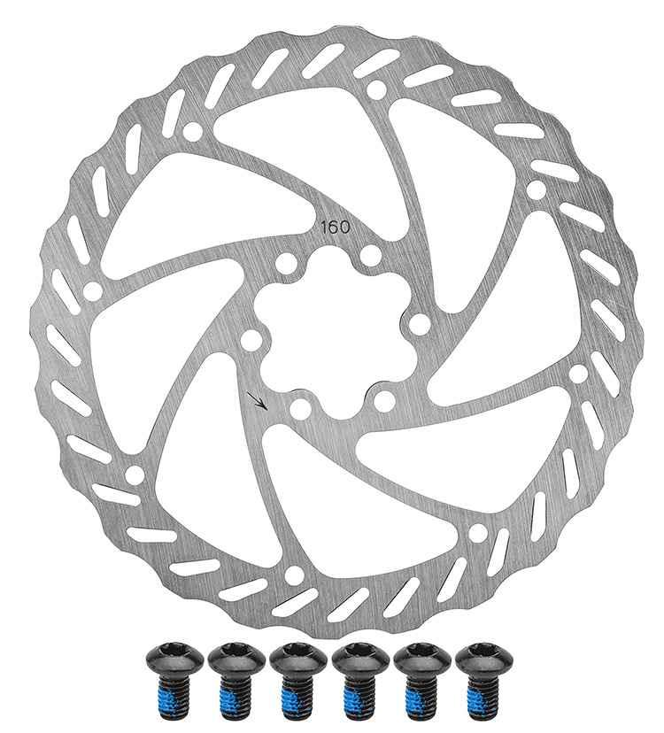 Ротор тормозной, RT553-G, 160 мм, 6 болтов, POWER, 1BF000000202