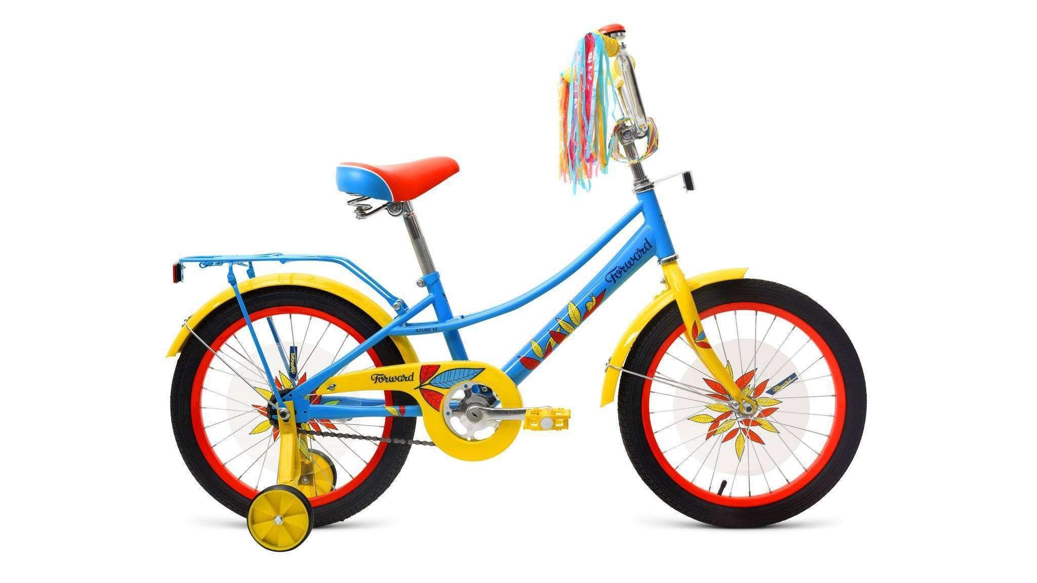 Велосипед FORWARD AZURE 18 2018-2019 41958