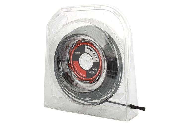 Оплётка троса, VZ-C09B-003, 30 м, 5,0 мм, для тормоза, VENZO (черный, 14V2P0900010)