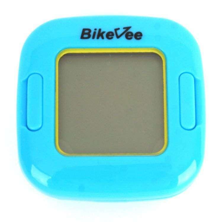 Велокомпьютер, беспроводной, BKV-2000, 13 функций, ч/б, BikeVee (синий, 1CM000000035)