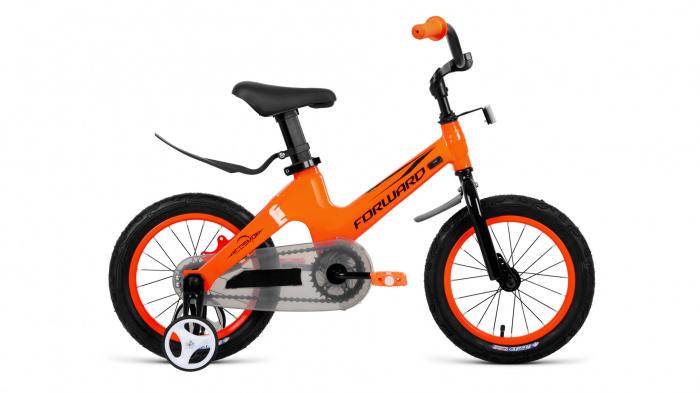 Детский велосипед Forward COSMO 12 (2020), Велосипед детскийFORWARD (12 1 ск.) 2019-2020, оранжевый, RBKW0LME1002  - купить со скидкой
