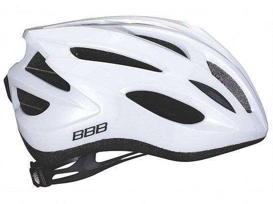 Летний шлем (BHE-352), BBB 2015 helmet Condor white silver (US:M)  - купить со скидкой