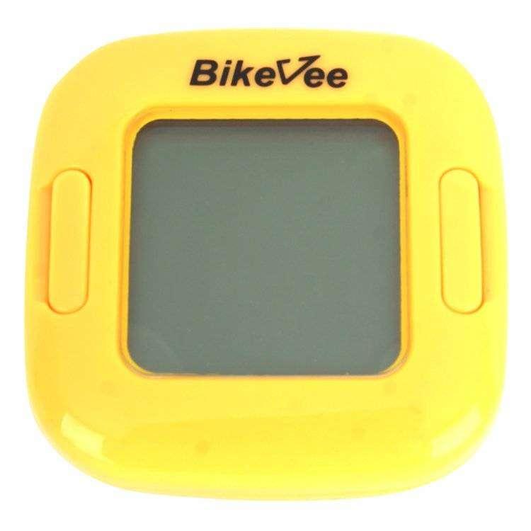 Велокомпьютер, беспроводной, BKV-2000, 13 функций, ч/б, BikeVee (желтый, 1CM000000036)