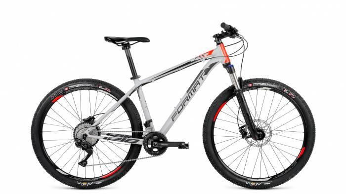 1212 27,5 (2018), Велосипед FORMAT (27,5 20 ск. рост S) 2017-2018, серый мат., RBKM8MU7D001  - купить со скидкой