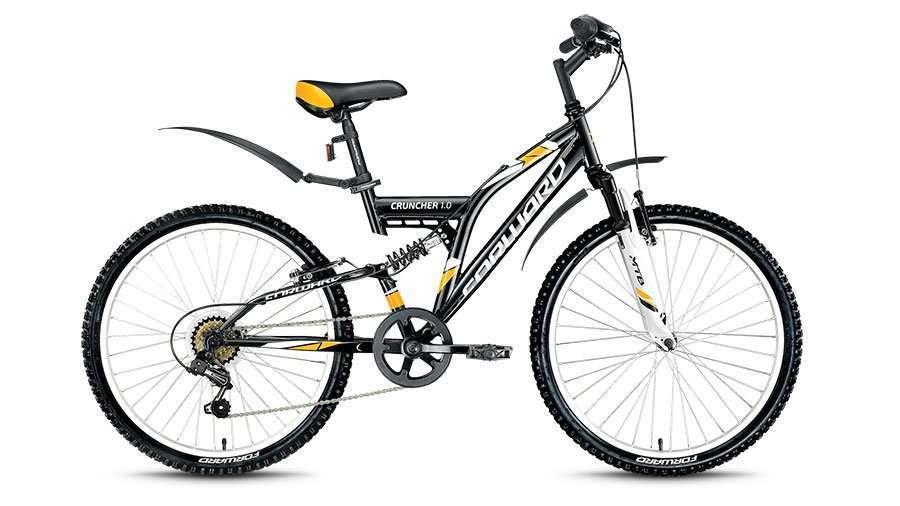 Купить Forward CRUNCHER 1.0 2017, Велосипед FORWARD (24 6 ск. рост 14.5 ) 2016-2017