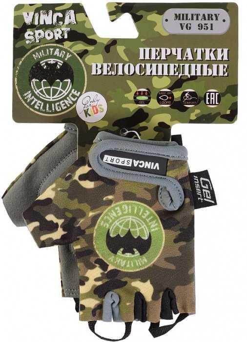 Велоперчатки детские, Military, гелевые вставки, 4XS (зеленый, VG951Military4) (Велоперчатки детские, Military, гелевые вставки, 4XS (зеленый, VG951Military4)) фото