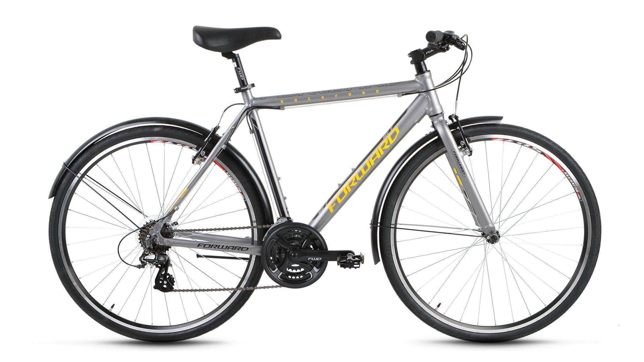 Купить Forward ROCKFORD 1.0 (2017), Велосипед FORWARD (28 21 ск. рост 500 мм) 2017-2018
