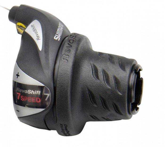Рукоятка переключения передач, правая, SL-RS36-7R, revoshift, 7 ск., SHIMANO (, ASLRS36R7AP) фото