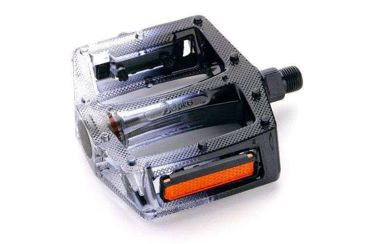 """Педали, (комплект), Платформенные, Z-0911, 100*110*28 мм, 9/16"""", Z plus (, RPEBLZPL0002)"""