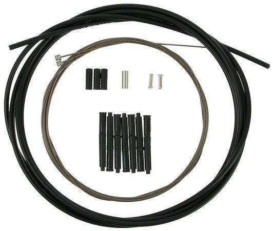 Трос, VZ-C09B-002, 1,5 мм* 3000 мм оплетка, трос F 1400 мм R 2400 мм * комплект тросов+оплетка+након (14ES30000010)