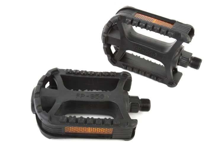 """Педали, (комплект), Платформенные, FP-856, 110*76 мм, 9/16"""" (черный, RFNPD8560001)"""
